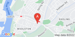 Google static map for B Matthews Funeral Directors, Woolston