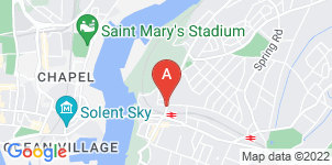 Google static map for Beestons Funeral Directors, Woolston