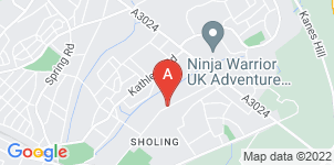 Google static map for Simply Funerals