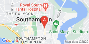 Google static map for S M Forbes Funeral Directors