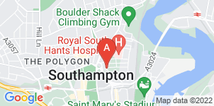 Google static map for The Co-operative Funeralcare, Southampton St Marys Rd