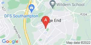 Google static map for F C Hughes Funeral Directors