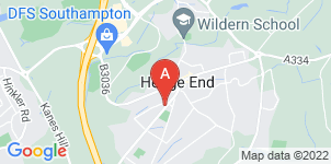 Google static map for A H Rogers & Sons Funeral Directors, Hedge End