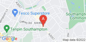 Google static map for R C Payne & Son Funeral Directors, Shirley