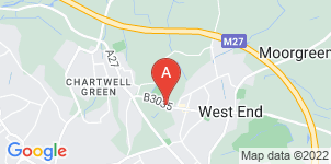 Google static map for A H Rogers & Sons Funeral Services, West End