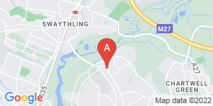 Google static map for R C Payne & Son Funeral Directors, Bitterne Park