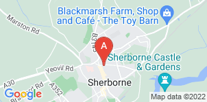 Google static map for A J Wakely & Sons Ltd, Sherborne