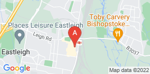 Google static map for A H Rogers & Sons Funeral Services, Eastleigh