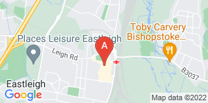 Google static map for The Co-operative Funeralcare, Eastleigh