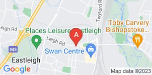 Google static map for Paul Capper Funeral Directors, Eastleigh