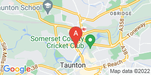 Google static map for Taunton Funeral Service
