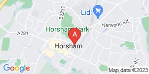 Google static map for Ballard & Shortall, Horsham