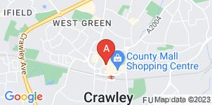 Google static map for Ballard & Shortall, Crawley