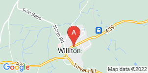 Google static map for Oak Funeral Services