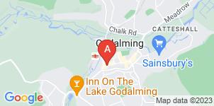 Google static map for Mullard Funerals
