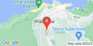 Google static map for Braddicks & Sherborne, Ilfracombe
