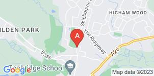Google static map for Henry Paul Funeral Directors, Tonbridge Branch & Memorials