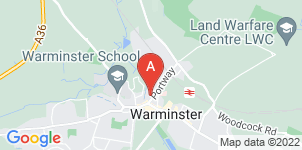 Google static map for F Curtis & Son Funeral Directors