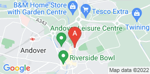 Google static map for Dunning Funeral Directors