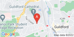 Google static map for Alan Greenwood & Sons Guildford