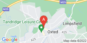 Google static map for Alex Jones Funeral Directors Ltd, Oxted
