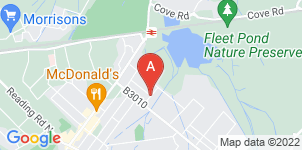 Google static map for A & W Goddard Ltd