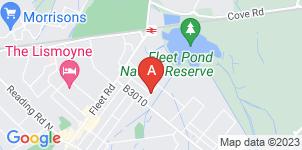 Google static map for A & W Goddard Ltd