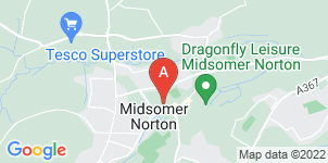 Google static map for B H Mears Funeral Directors