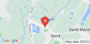 Google static map for Alan Greenwood & Sons Send
