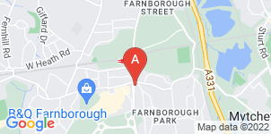 Google static map for Ford Mears & Partners, Farnborough