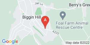 Google static map for Mears Family Funerals. Biggin Hill