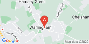 Google static map for Rowland Brothers Warlingham