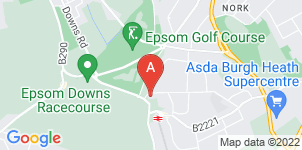 Google static map for Alan Greenwood & Sons Epsom Downs