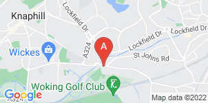 Google static map for James & Thomas Funeral Directors, St Johns