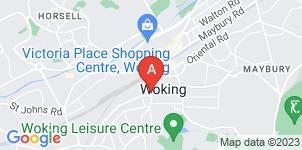 Google static map for Cyril H Lovegrove Funeral Directors, Woking