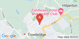 Google static map for C S Bowyer Funeral Directors, Trowbridge