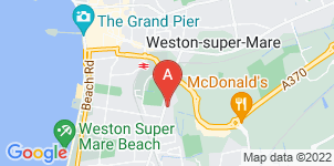 Google static map for Masons Funeral Directors
