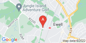 Google static map for Garner's Funeral Service Ltd, Ewell