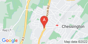 Google static map for Frederick W Paine Funeral Directors, Chessington