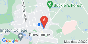 Google static map for Miles & Daughters, Crowthorne