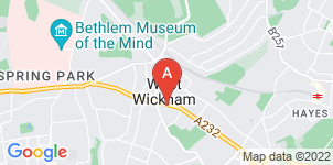 Google static map for Francis Chappell & Sons Funeral Directors, West Wickham