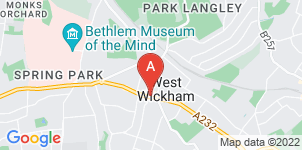 Google static map for Mears Family Funerals West Wickham