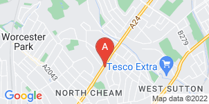Google static map for Alan Greenwood & Sons North Cheam