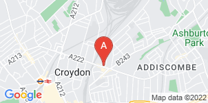 Google static map for Francis Chappell & Sons Funeral Directors, East Croydon