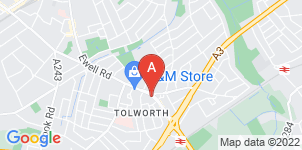 Google static map for Garners Funeral Service Ltd, Tolworth