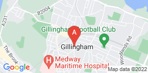 Google static map for A H Apps Funeral Directors, Gillingham