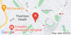 Google static map for Rowland Brothers Croydon