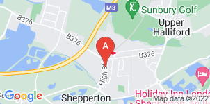 Google static map for Alan Greenwood & Sons Shepperton