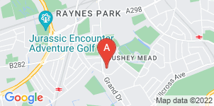 Google static map for UK Funeral Directors