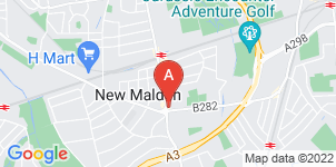 Google static map for Frederick W Paine Funeral Directors, New Malden